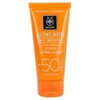 Olive and 3D Anti-Wrinkle Facial Cream Pro-Algae SPF50
