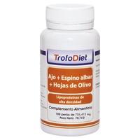 Ajo, Espino Albar y Hojas de Olivo para el Colesterol