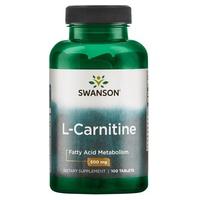 L-karnityna, 500 mg