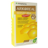Arkoreal Jalea Real Vitaminada 500mg Sabor naranja y miel