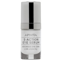 5-Action Eye Serum Con Lirio Blanco