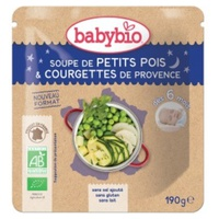 Doypack Organic Pea Zucchini Soup (from 6 months)