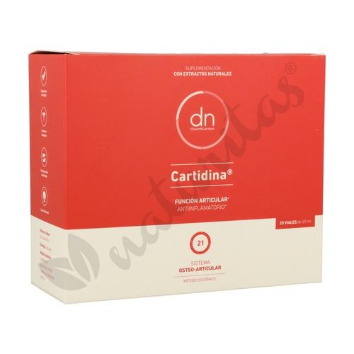 Cartidina 20 viales de 20 ml. de Direct Nutrition