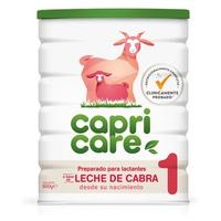 Preparado para lactantes a base de leche de cabra