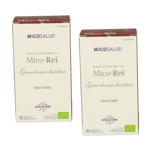 Pack 2x Mico Rei Ganoderma lucidum Reishi - Hdt