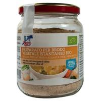 Brodo vegetale senza lievito - istantaneo