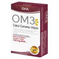 OM3 DHA Cœur Cerveau Vision