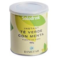 Thé vert Solodrink, fibre, bouteille de menthe