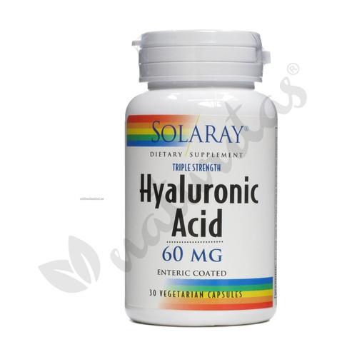 Ácido Hialurónico 30 cápsulas de Solaray - Kal