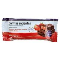 Tablette de chocolat aux fraises Herbopuntia