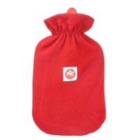 Hot water bottle, with polar cover