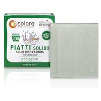 Solara Sapone Solido per Piatti Solubile e Super Concentrato - Menta Piperita