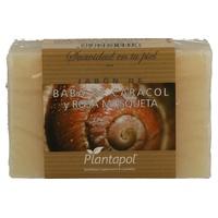 Jabón natural baba de caracol y rosa mosqueta