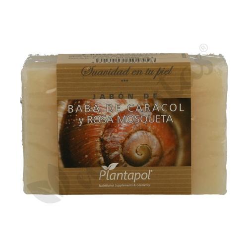 Jabón Natural Baba de Caracol y Rosa Mosqueta 100 gr de Plantapol