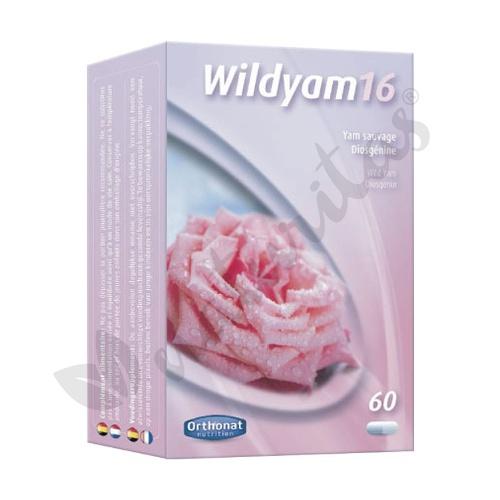 Wild Yam 16% (No disponible) 60 cápsulas de Orthonat