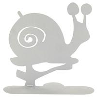 Uchwyt spirali z białego ślimaka
