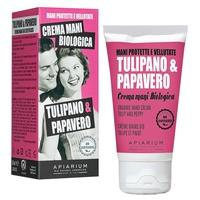 Crema para Manos Biológica Tulipán y Amapola