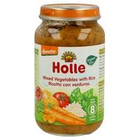 Jar of rice with vegetables Junior Bio
