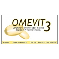 Omevit 3 (Omega 3 y Vitamina E)