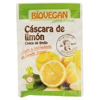 Cáscara de limón para decorar bio