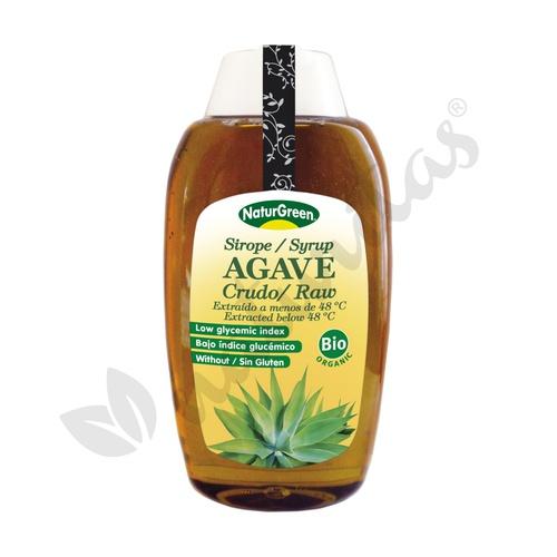 Sirope de Agave Raw Crudo Bio