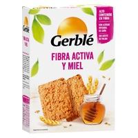 Galletas Fibra Activa y Miel