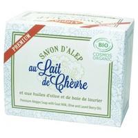 Jabón de Alepo Premium con leche de cabra