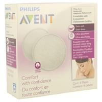 Philips Avent Discos Absobentes Lavables SCF155/06