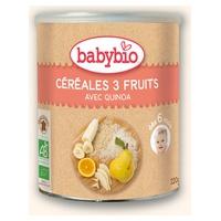 Papilla De Cereales 3 Frutas Bio 6m+