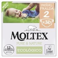 Fraldas Moltex Pure & Nature T2 (3-6 kg)