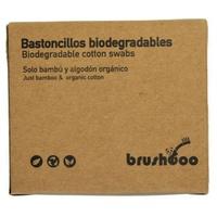 Bastoncillos bio bambú y algodón orgánico