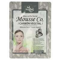 Mascarilla Mousse CO2 con Carbón vegetal