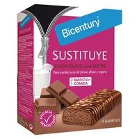 Barritas de Substituição com Chocolate de Leite