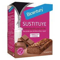 Barritas Sustituye chocolate con leche