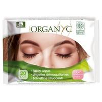 Salviettine per il viso organiche