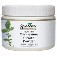 Magnesium Citrate, 100% Pure Powder