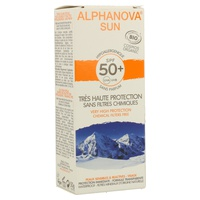 Crema Solar Pieles Sensibles Hipoalergénica Sin Perfume SPF 50+
