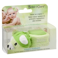 Bobo l'ours cube froid anti bosse Vert