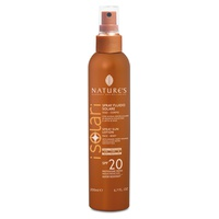 SPF20 solar fluid spray