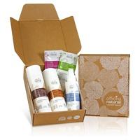 Caja de regalo Ola Relax: champú para el cabello estresado, acondicionador para el cabello estresado, desodorante de onda marina