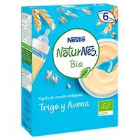 Nestlé Naturnes BIO Papilla de Cereales Trigo y Avena 6m+
