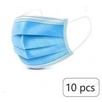Masques de protection triple couche 10 unités