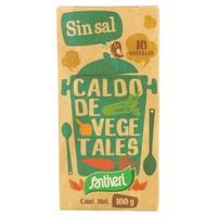 Caldo Vegetal en Cubitos sin Sal