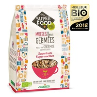 Superfruit sprouted cereal flakes muesli