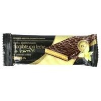 Tablette de chocolat au lait et vanille