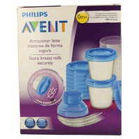 Philips Avent Recipientes para Leche Materna SCF618/10