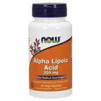 Alpha Lipoic Acid 250 mg High Antioxidant Power