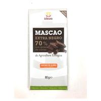 Mascao z ciemnej czekolady 70% z organicznymi nasionami kakao