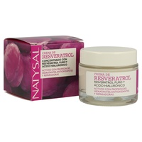Natural Cream Resveratrol and Hyaluronic Acid