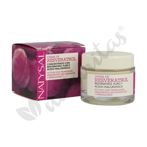 Crema Natural Resveratrol y Ácido Hialurónico